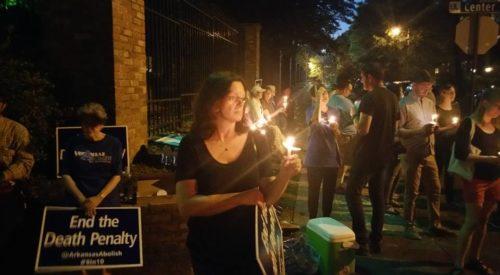Arkansas execution vigil