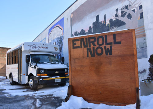 Enroll Now sign
