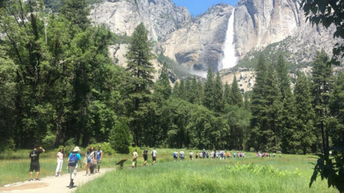 Yosemite hike Pathways pilgrimage