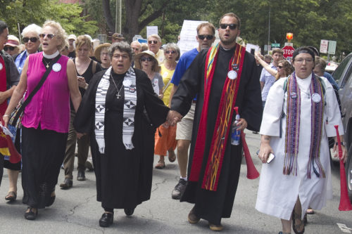 Anti-KKK march