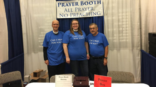 Fair prayer booth