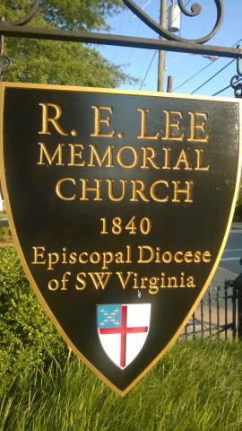 Lee Church sign