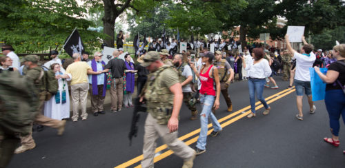 Charlottesville march