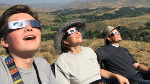 Sun Valley solar eclipse