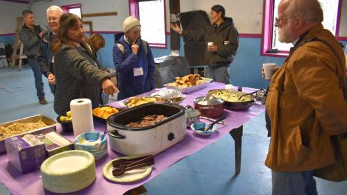 Caribou feast