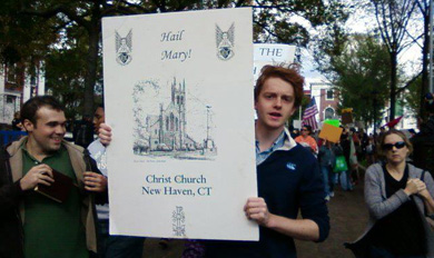 St. Hilda's participates in Occupy movement