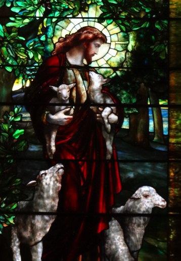 Jesus tending (but not counting) his flock. Photo/Lori Erickson