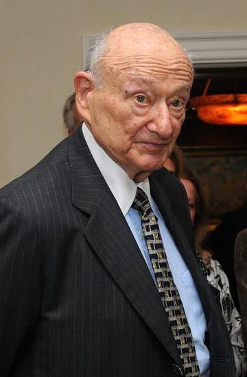 Former New York Mayor Ed Koch.