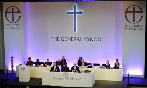 Members of the Church of England's Synod attend the session during which they discussed and voted on the consecration of women bishops, in York, July 14. Photo: REUTERS/Nigel Roddis