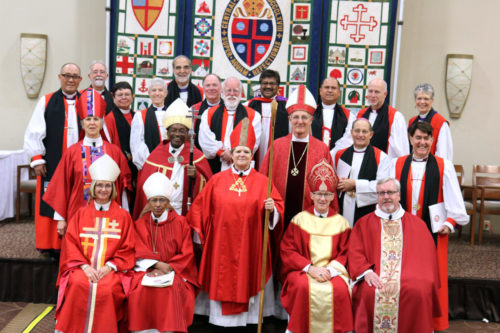 Bishops from El Salvador to Long Island attended the consecration DeDe Duncan-Probe as the new bishop of Central New York. Photo: Cindy Barrus/Episcopal Diocese of Central New York