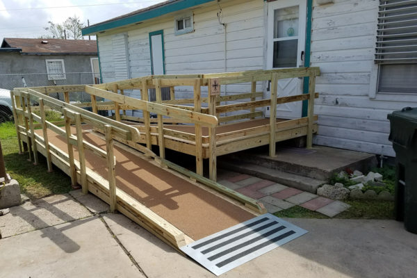 February wheelchair ramp
