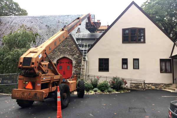 St. Peter's roof replacement
