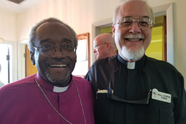 Michael Curry and Chris Todd