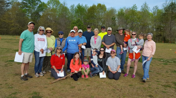 Holy Hikes group in Greenville