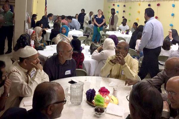 Iftar at St. James