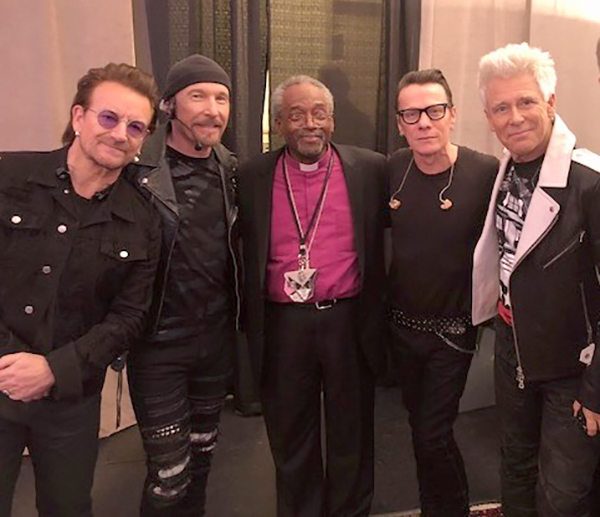 Michael Curry and U2
