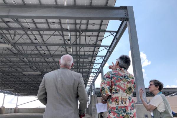 St. David's solar panels
