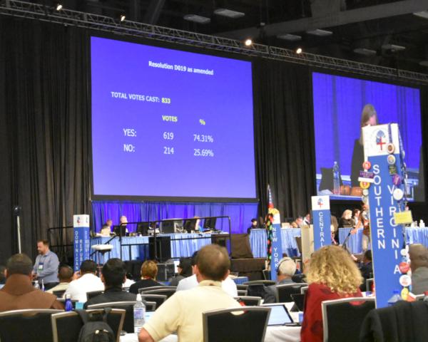 resolution vote resiult