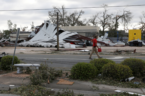 Panama City damage