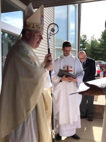 Bishop Rowe at Resurrection