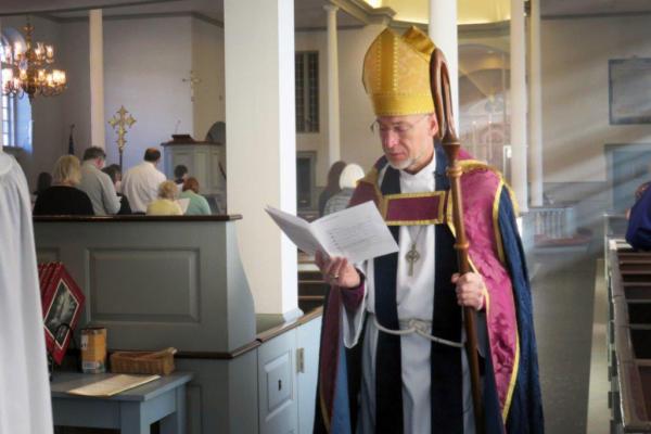 Bishop Love at St. George's