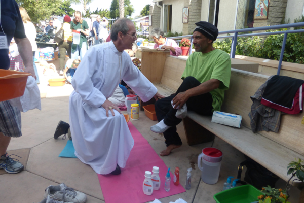 Diocese of San Diego foot washing