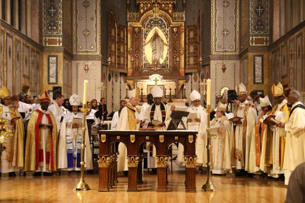 UBE opening Eucharist