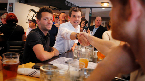 Buttigieg on the campaign trail