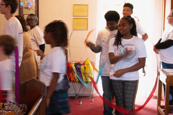 Christ's Beloved Community procession