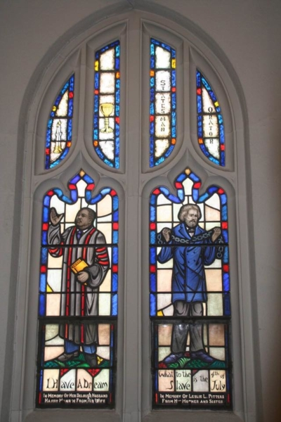St. Cyprian's window