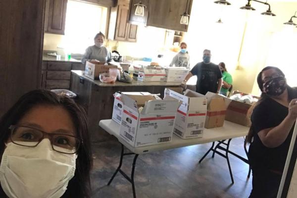 Cornelia Eaton food distribution