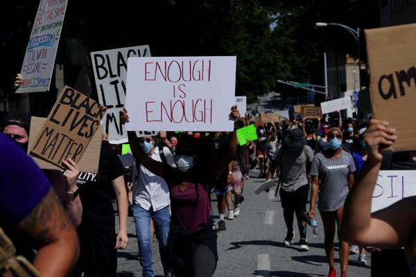 Rayshard Brooks protest