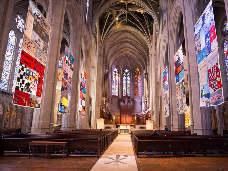 San Francisco S Grace Cathedral Will Host Virtual Interfaith Service For World Aids Conference Episcopal News Service