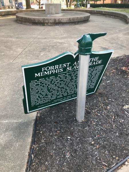 Nathan Bedford Forrest sign