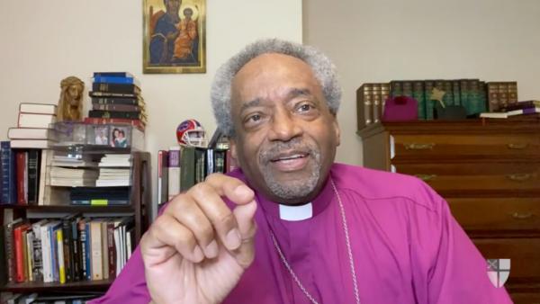 Presiding Bishop on policing webinar